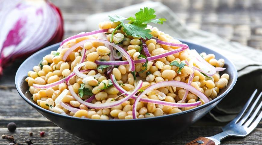 Рецепт Простой фасолевый салат