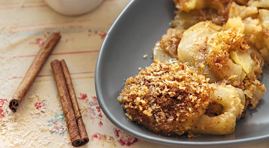 Рецепт Десерт из печеных яблок с медом