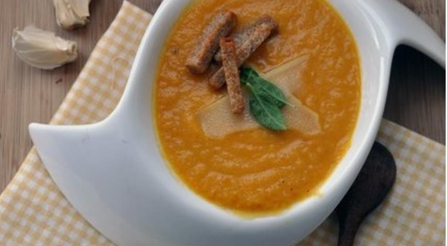 Рецепт Суп-пюре из сезонных овощей