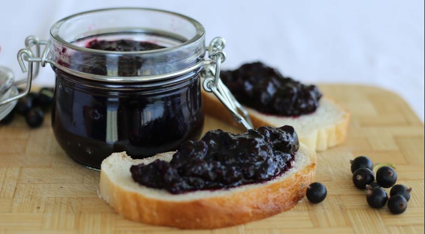 Рецепт Джем из черной смородины