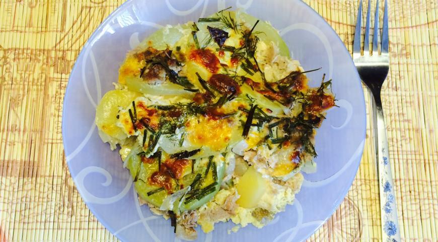 Рецепт Запеканка из мясного фарша и овощей