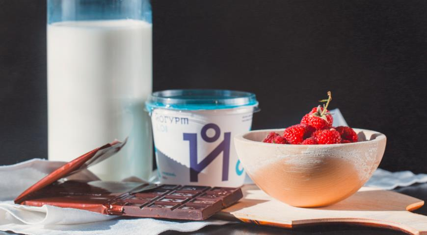 Рецепт Диетическое мороженое из йогурта