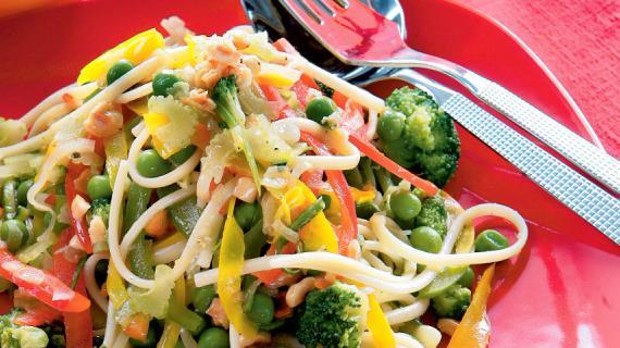 Овощной салат слоями рецепт с фото