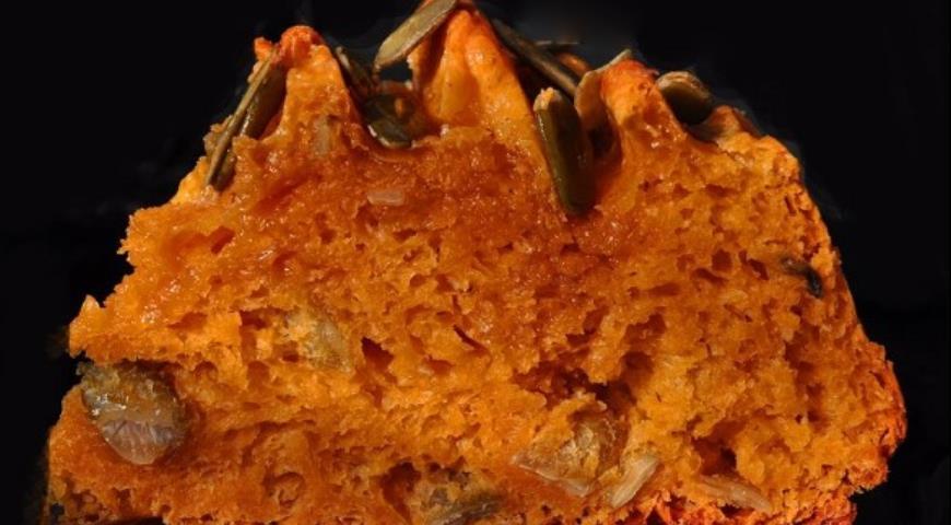 Рецепт Влажный дрожжевой тыквенный кекс
