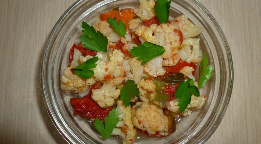 Рецепт Ароматная цветная капуста