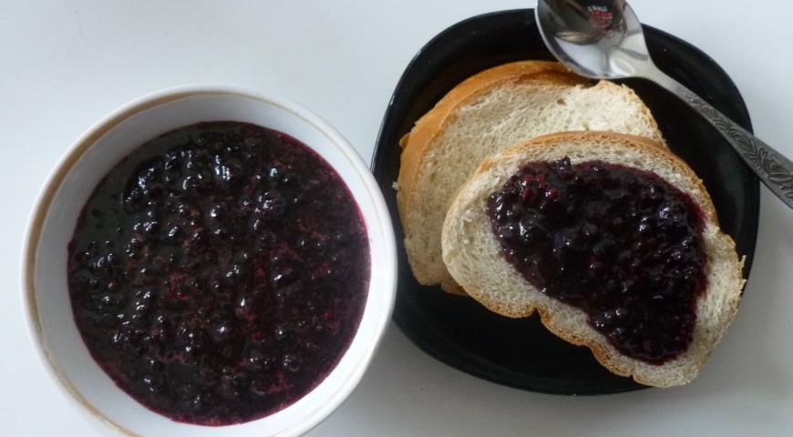 Рецепт Ежевика протертая с сахаром