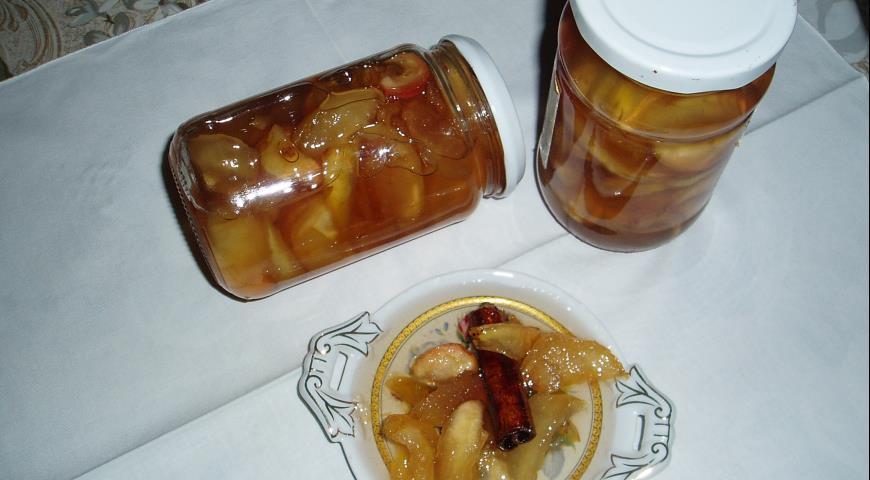 Рецепт Варенье яблочное с корицей