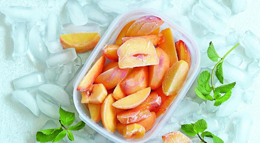 Рецепт Замороженные персики