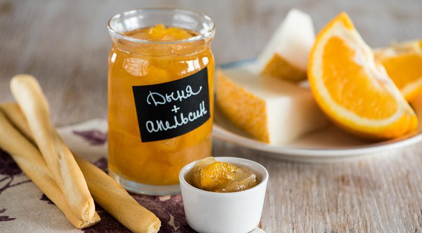 Рецепт Варенье из дыни с апельсином