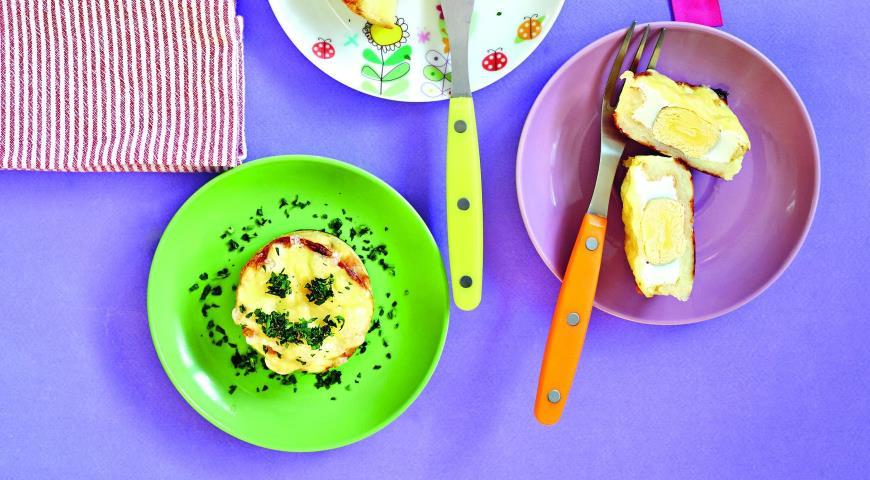 Рецепт Картофельные гнезда с яйцом