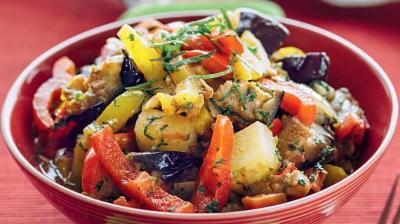 Аджапсандали с картошкой, пошаговый рецепт с фото