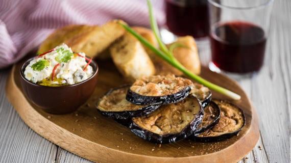 Жареные баклажаны пошаговый рецепт с