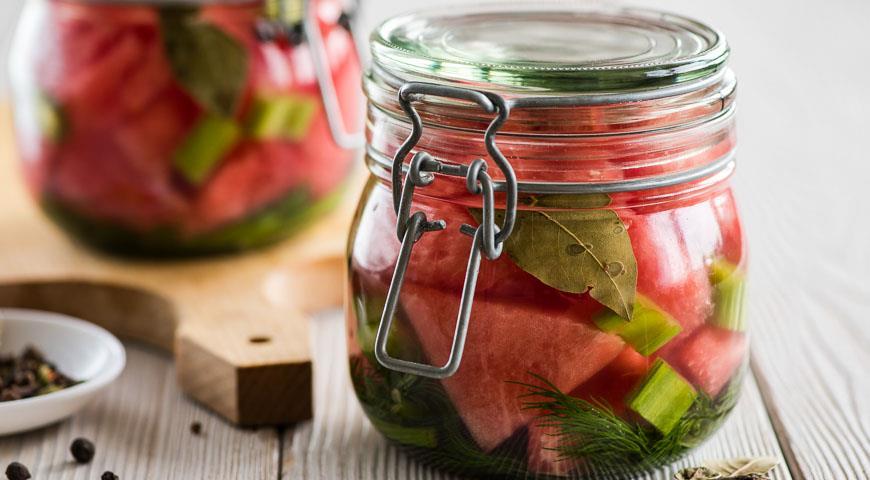 Рецепт Маринованный арбуз