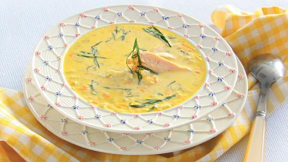 Нежный рисовый суп с курицей и базиликом, пошаговый рецепт с фото