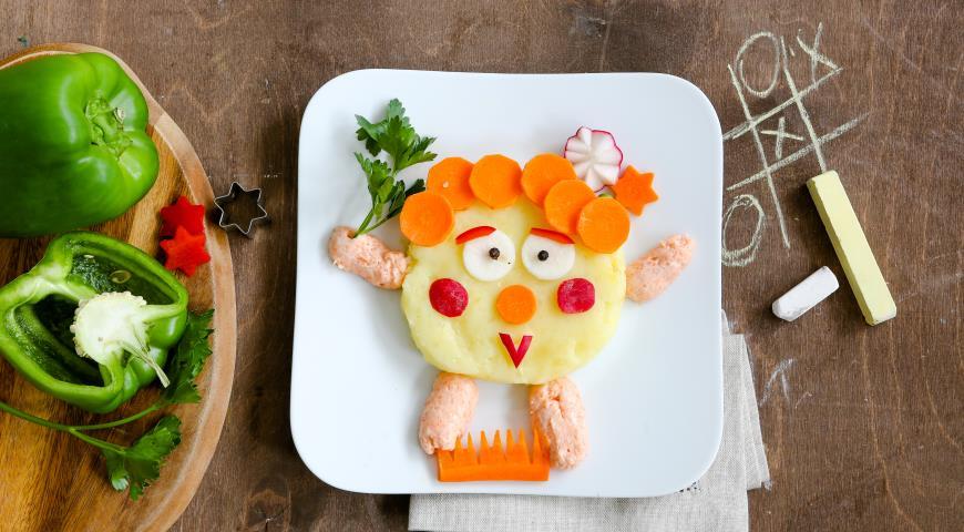 Фото картофельного пюре для детей