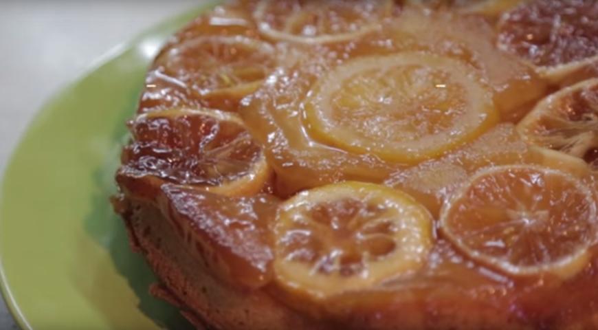 Рецепт Лимонный кекс-перевертыш