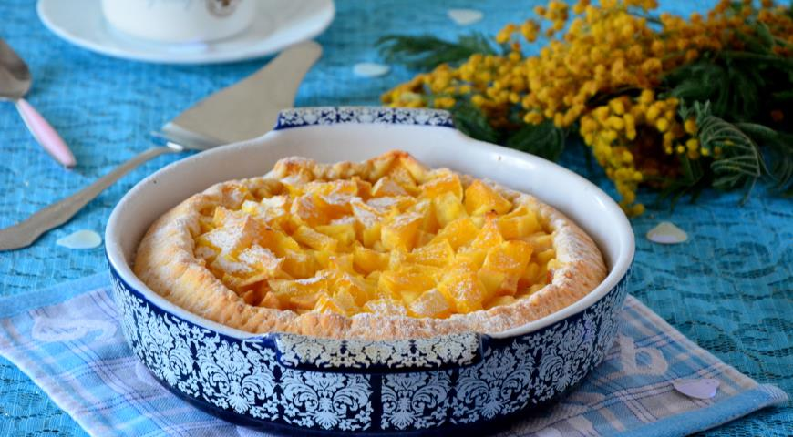 Рецепт Шарлотка с яблоками и апельсином