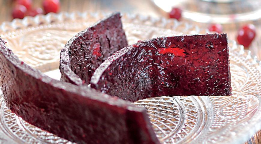 Пастила из брусники, пошаговый рецепт с фото