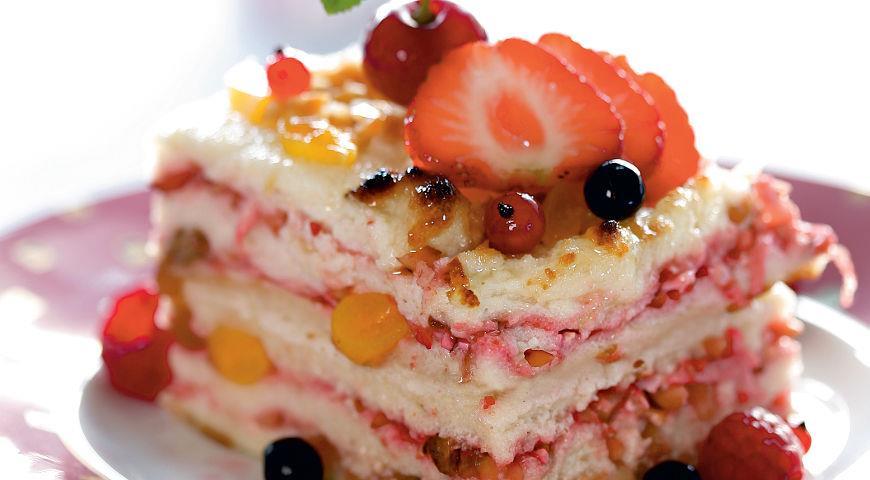 гурьевский десерт рецептрецепт