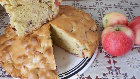 Шарлотка пышная с яблоками рецепт с пошагово