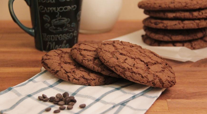 Рецепт Печенье Американское с шоколадом от О'КЕЙ