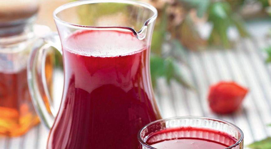 Рецепт Пряный клюквенный морс от простуды