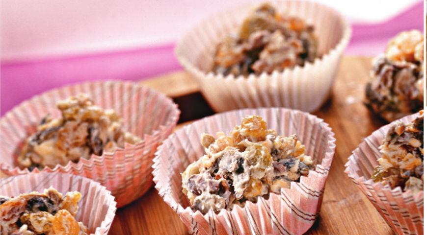 Рецепт Печенье из белого шоколада
