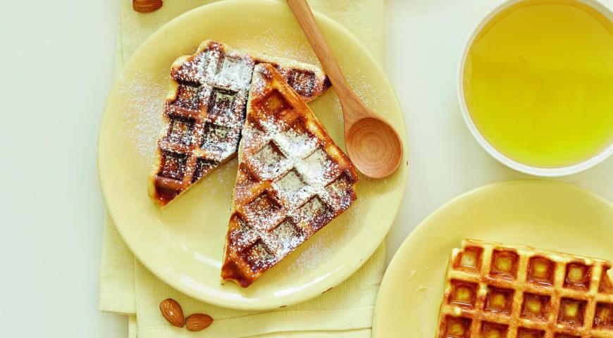 Рецепт Вафли к завтраку