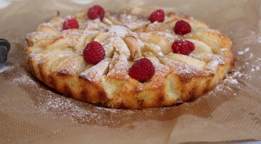 Рецепт Итальянский деревенский яблочный пирог