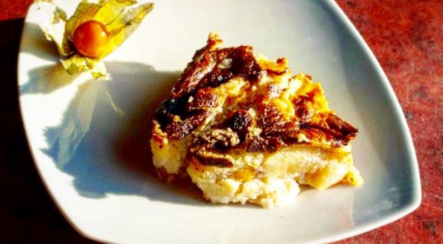 Рецепт Шведский яблочный торт.