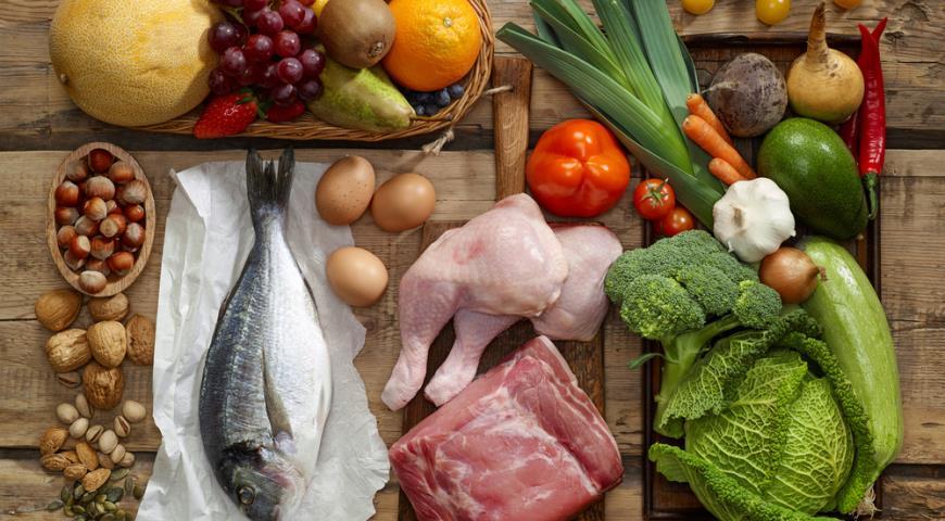 Здоровая еда на неделю