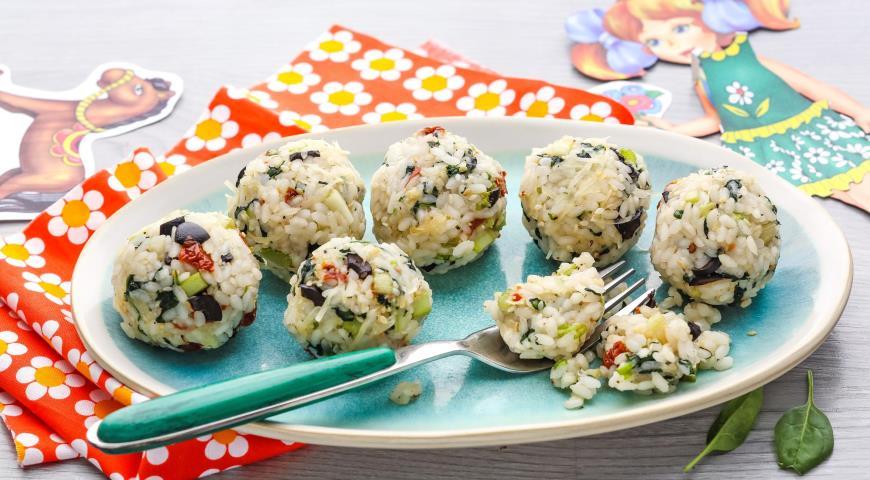 Рецепт Рисовые шарики