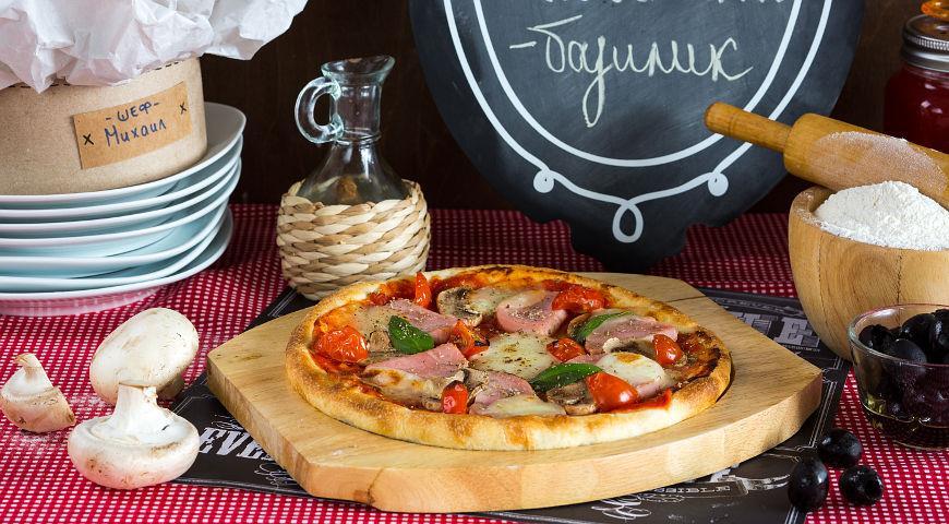 Рецепт Мини-пицца «Сделай сам»