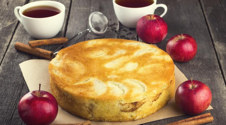 Шарлотки с яблоками пошагово с фото видео
