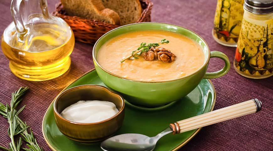 тыквенный суп пюре рецепт в мультиварке фото