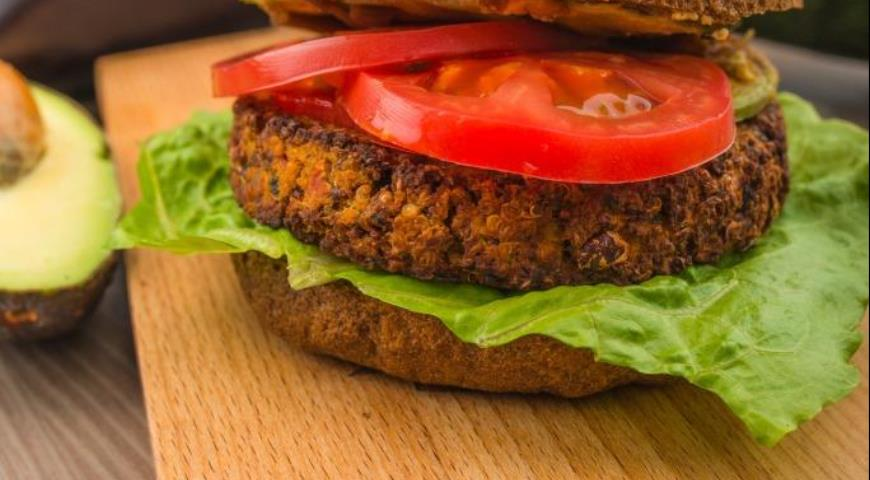 Рецепт Vegan бургер от минимаркета «Город-Сад»