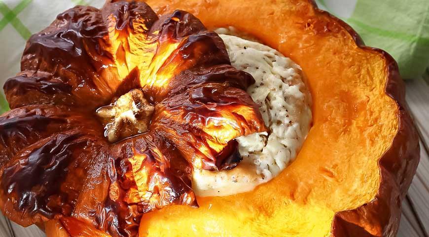 Рецепт Тыква в духовке по-женевски