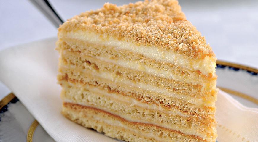 торт медовик классический рецепт видео