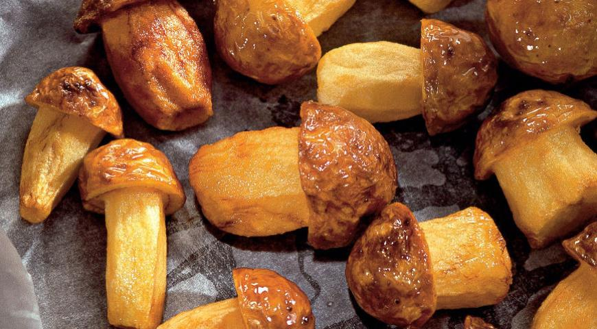 Рецепт Грибы из картофеля
