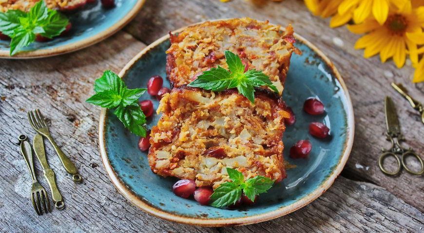 Рецепт Утиный террин с топинамбуром и паприкой
