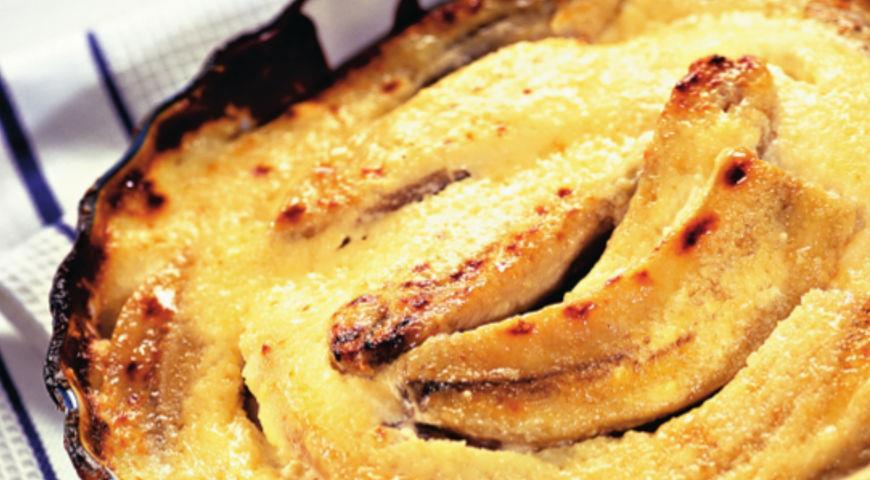 Рецепт Бананы с творожным кремом
