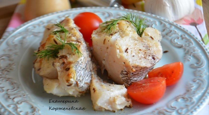 Рецепт Рыба в лимонно-пряном маринаде