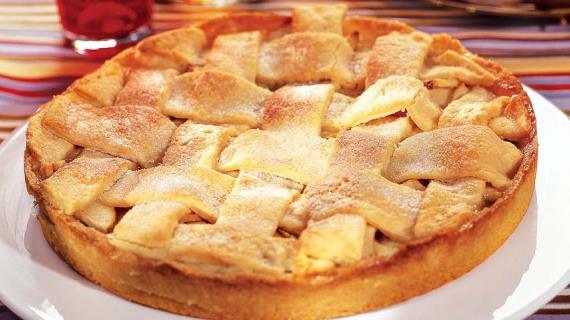 Яблочный пирог пошаговый рецепт