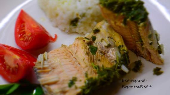 горбуша сочная рецепты с фото