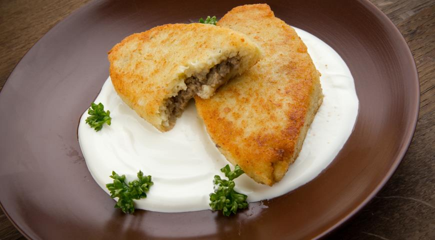 Рецепт Зразы с мясом