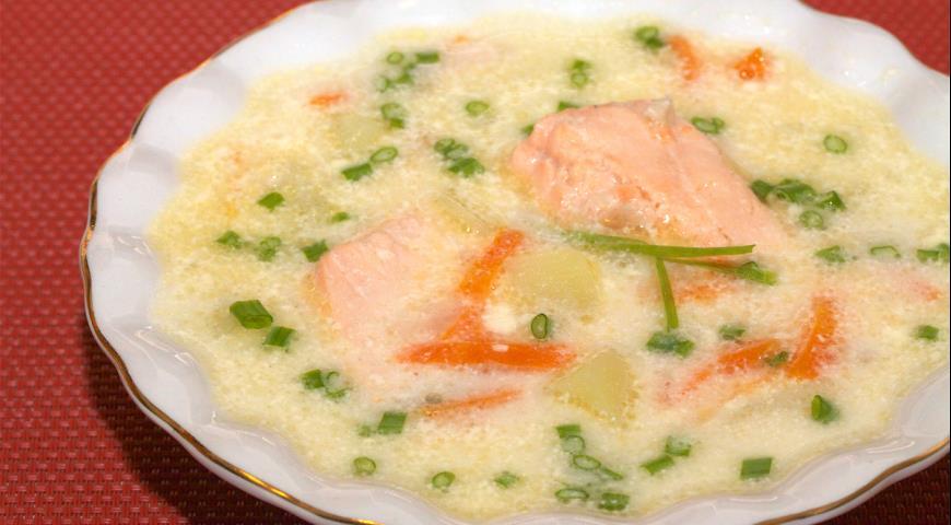 рыбный суп из трески рецепты с фото