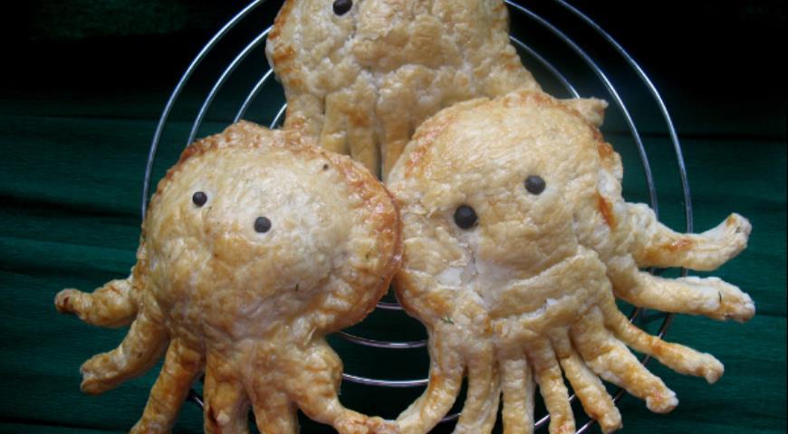 Рецепт Пирожки-эмпанады «Осьминожки»