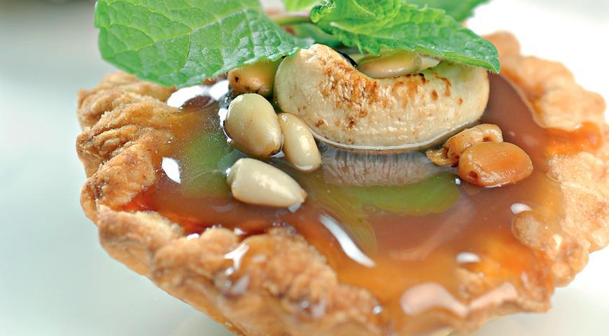 Рецепт Тарталетки с карамельной начинкой
