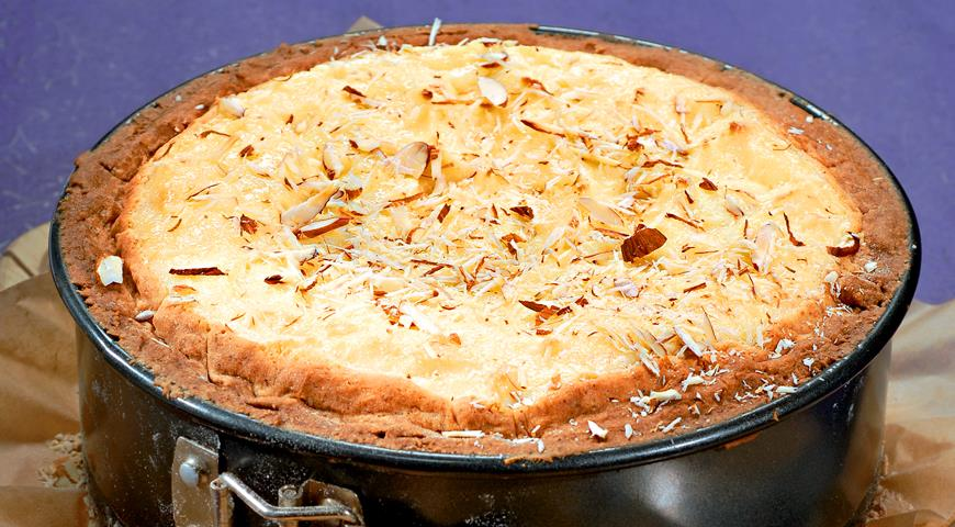 Рецепт Творожный пирог с вишней
