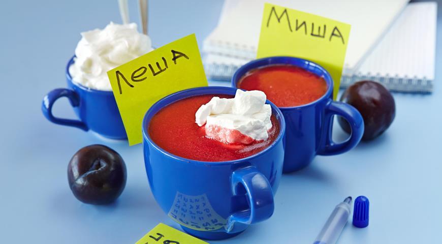 Рецепт Украинская киселица из слив